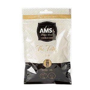 Filtro para Cigarro AMS The Filter Slim 6mm Pct 130 Und
