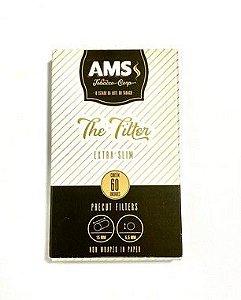 Filtro para Cigarro AMS The Filter Extra Slim 5.5mm Caixa 60 Und