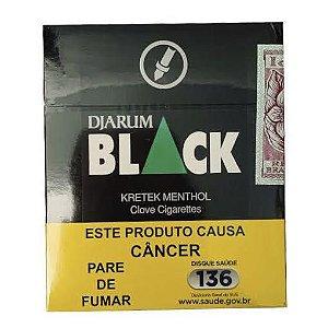 Cigarro Black Menta Carteira 20 unidades
