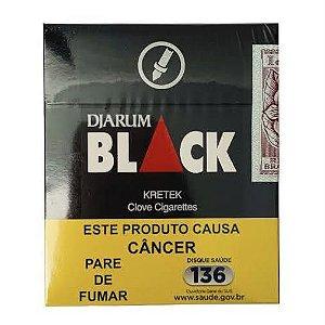 Cigarro Black Cravo Carteira 20 unidades