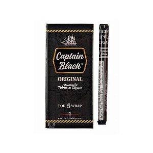 Cigarrilha Captain Black Original Com Piteira Cx c5 Und