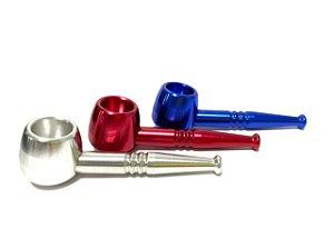 Pipe de Metal (Cachimbo) Diversas Cores