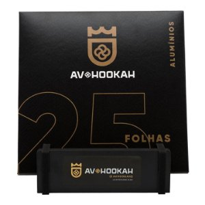 Papel Aluminio 25 Folhas Av Hookah