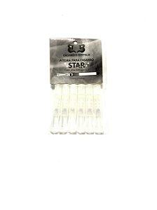 Piteira Para Cigarro Descartável Star - Pct C/ 6 Und