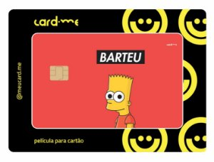 Card.me -  Bart Simpson