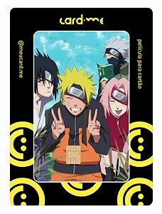 Naruto - Sakura - kakashi - Sasuke - Card.me