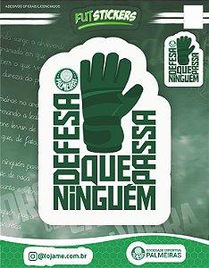 Cartela de adesivos - Palmeiras