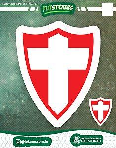 Cartela de 2 adesivos retrô CRUZ DE SAVÓIA - Palmeiras
