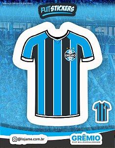 Cartela de 2 adesivos da camisa n°1 do Grêmio