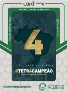 Card.me OFICIAL - PALMEIRAS - CAMPEÃO DA COPA DO BRASIL