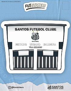 Cartela de adesivo VILA BELMIRO - SANTOS