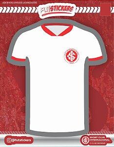 Cartela de 1 adesivo da camisa do INTERNACIONAL