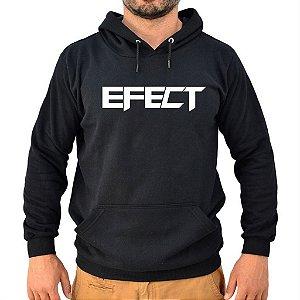 Moletom Preto Logo EFECT
