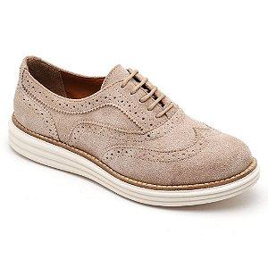 Sapato Oxford Camurça Letícia Alves 300