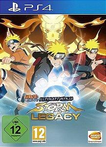NARUTO SHIPPUDEN: Ultimate Ninja Storm Legacy | PS4 MÍDIA DIGITAL