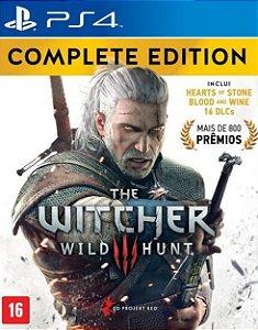 The Witcher 3: Wild Hund| PS4 MÍDIA DIGITAL