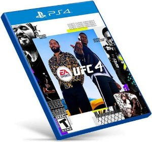 UFC 4 | PS4 MÍDIA DIGITAL