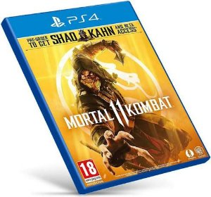 Mortal Kombat 11 Ultimate | PS4 MÍDIA DIGITAL