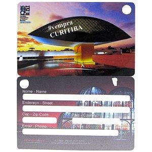 Tag para malas com alça de silicone - layout exclusivo