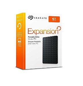 HD Externo Seagate Expansion Portátil 1TB USB 3.0
