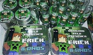Kit lembrancinhas Minecraft - 90 Unidades