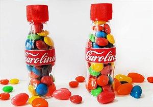 Mini garrafa PET Coca-Cola personalizada