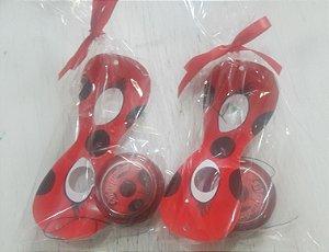 Kit com ioiô e máscara - Ladybug e Cat Noir