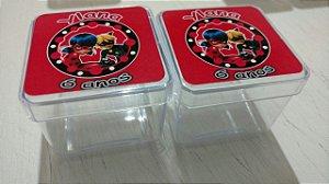 Rótulos adesivos para caixinhas 4x4x4 cm - 10 unidades