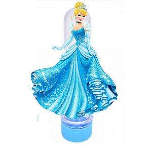 Tubetes 3D Princesas Disney com nome e idade
