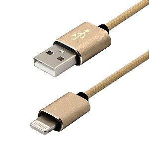 Cabo Lightning para USB Easy Mobile - 1,2M (Certificado pela Apple)