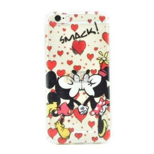 Capinha Casal Mickey e Minnie iPhone 5 e 5S e SE