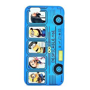 Capinha iPhone 6 Plus e 6S Plus Minions bus