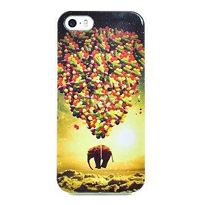 Capinha elefante no balão iPhone 6 e 6S