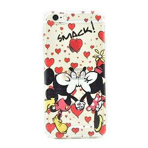 Capinha iPhone 6 e 6S Casal Mickey e Minnie