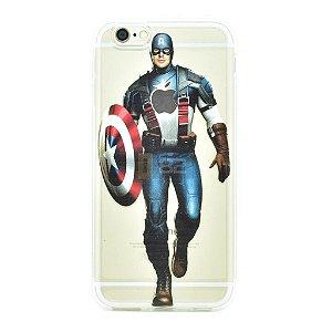 Capinha iPhone 6 e 6S Capitão America