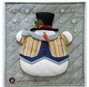 Painel Boneco de Neve