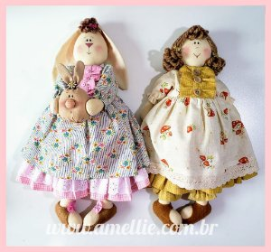 Boneca e Coelha Lele