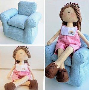 Projetos Leléca e Sofá de boneca