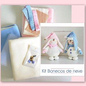 Kit Bonecos de neve