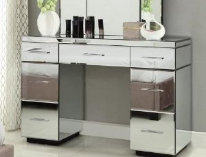 Aparador Espelhado Decorativo Para Sala De Estar Lapidado