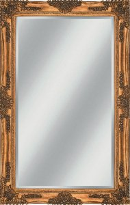 Espelho Decorativo Com Moldura Classico Bizotado 1,00x2,00m