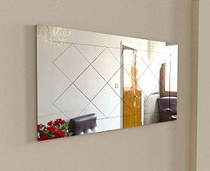 Espelho Decorativo Losango Lapidado 140-100