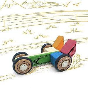 Kit Carros - Blocos de montar magnéticos + de 30 modelos