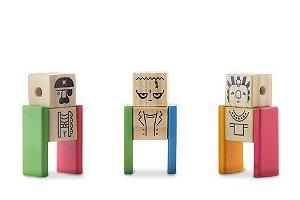 Kit Pessoinha - 9 personagens