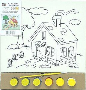 Tela de Pintura 25 x 30cm - Casa