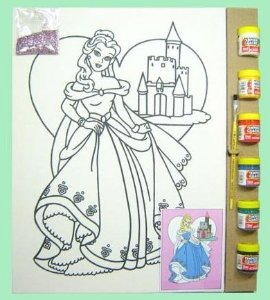 Tela de Pintura G Especial - Princesa