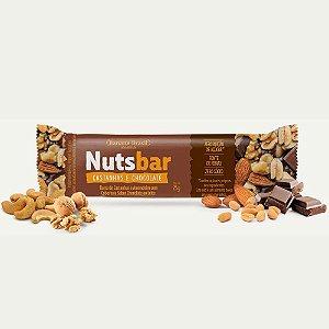 BARRA DE CEREAL NUTS BAR CASTANHAS E CHOCOLATE 25G BANANA BRASIL
