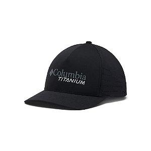 BONE UNISSEX TITANIUM BALL CAP PRETO CU0256-010 COLUMBIA