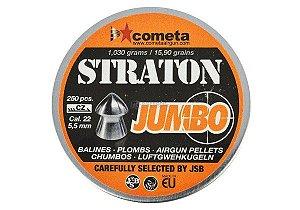 CHUMBINHO JUMBO STRATON 5,5 MM (250UN) JSB ROSSI LIQUIDAÇÃO