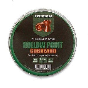 CHUMBINHO HOLLOW POINT COBR. 5,5MM (250 UN) ROSSI i